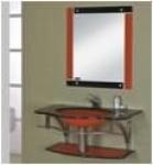 Мебель для ванной из стекла Arcobaleno модель JD-3002