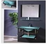 Мебель для ванной из стекла Arcobaleno модель JD-209