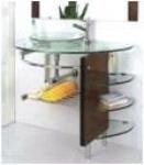 Мебель для ванной из стекла Arcobaleno модель JD-01