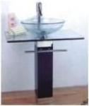 Мебель для ванной из стекла Arcobaleno модель JD-02