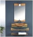 Мебель для ванной из стекла Arcobaleno модель JD-11