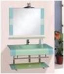 Мебель для ванной из стекла Arcobaleno модель JD-027